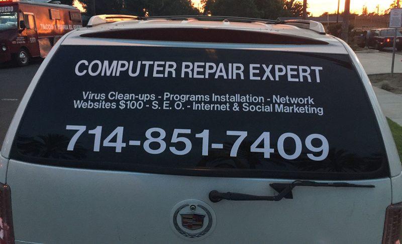 COMPUTER REPAIR SERVICE IN SANTA ANA 92705 TEL: 714-851-7409